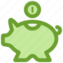 bank, business, finance, piggy, savings icon