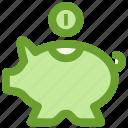 bank, business, finance, piggy, savings