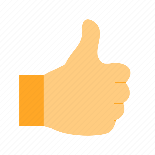 good, hand, sign, social, thumb, thumbs icon