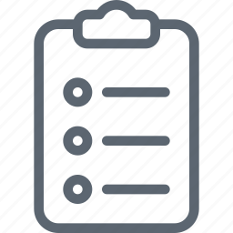 clipboard, document, documents, file, page, plan, sheet icon