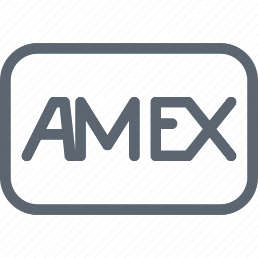 american express, amex, bank, card, method, pay, payment icon