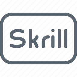 ecommerce, money, online, pay, payment, skrill, transaction icon