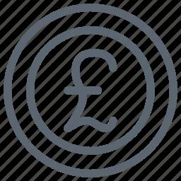 britain, british, coin, currency, england, money, pound icon