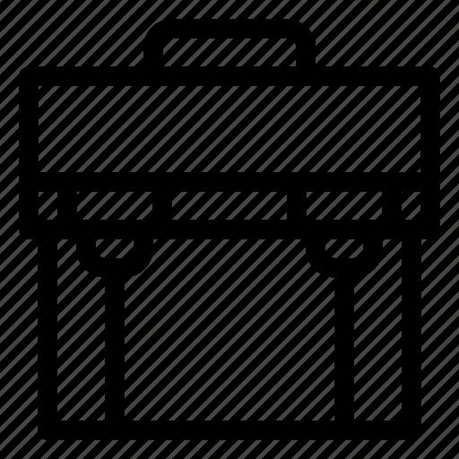 briefcase, business, finance, job, management, office, work icon