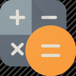 calculate, calculation, calculator, finance, mathematics icon