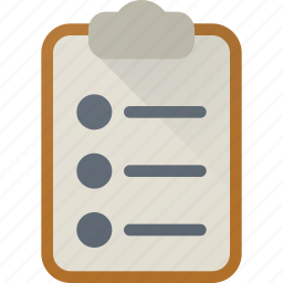 board, clip, data, document, documents, file, paper icon