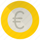 euro, cash, coin, currency, finance, money, payment