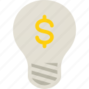 business, dollar, finance, financial, idea, money icon