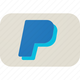 cart, cash, ecommerce, pay, payment, paypal, shopping icon