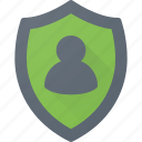 insurance, personal, private, protection, safety, security, shield icon