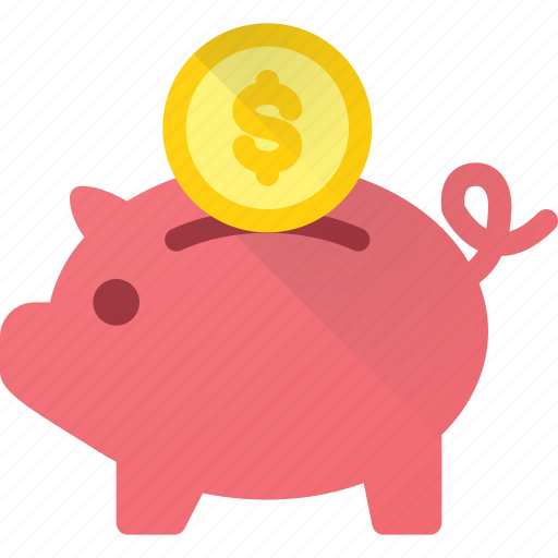 bank, banking, dollar, finance, financial, piggy, saving icon