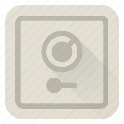 bank, locked, money, protection, safe, secure, security icon