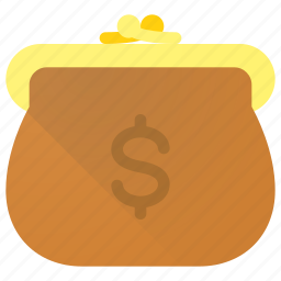 bag, cash, money, payment, shopping, wallet icon