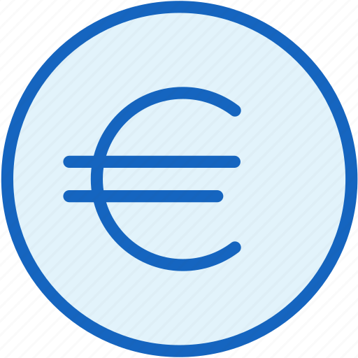 business, coin, currency, euro, finance, value icon