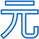 business, currency, finance, yuan icon