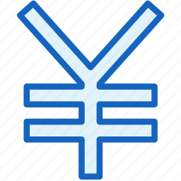 business, currency, finance, yen icon