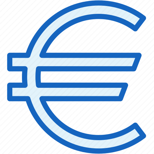 business, currency, euro, finance icon