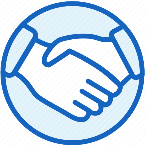 business, collaboration, finance, hand, shake, work icon