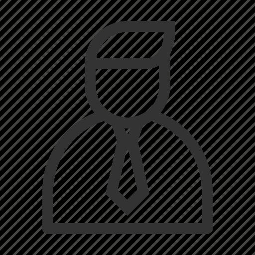 avatar, business, businessman, man, office, profile, user icon