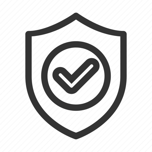 approved, business, check, checklist, protection, security, trusted icon