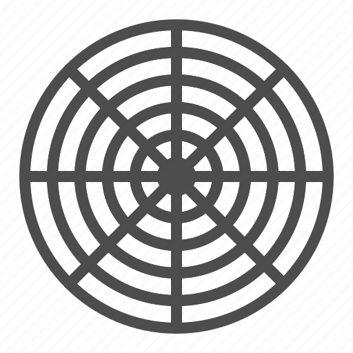 analysis, business, chart, graph, radar, radial, statical icon