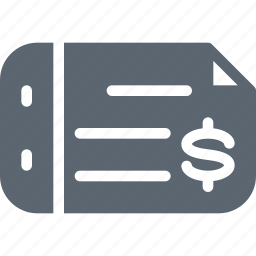 bank, check, credit, finance, money, pay, payment icon