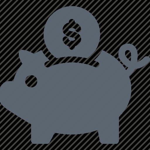 bank, banking, finance, money, piggy, piggybank, savings icon