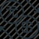 business, dollar, exchange, finance, pi, yuan
