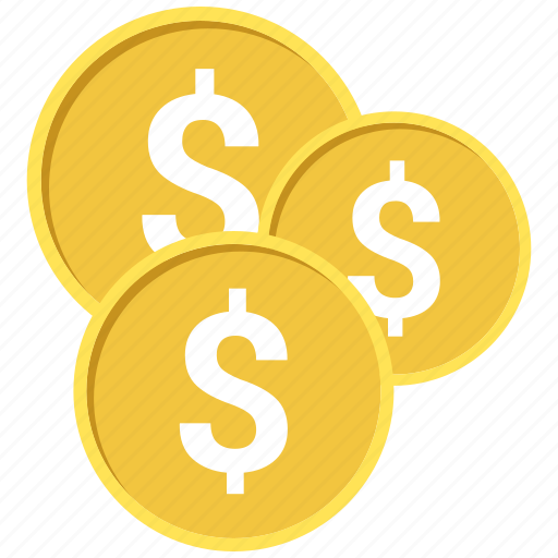 Coin, coins, gold, money icon - Download on Iconfinder