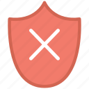 cross, security, shape, shield icon