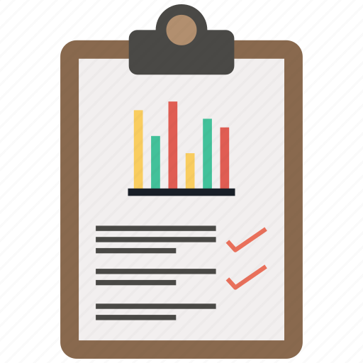 checklist, infographic, list, notepad, paper icon