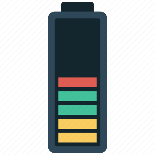 battery, full, simple icon