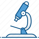 analysis, biology, equipment, lab, microscope, research, science icon icon