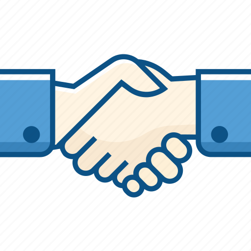 agreement, business, hand, handshake, partner, partnership icon icon
