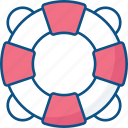 float, ring, safety, swimming, tube icon icon