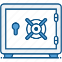 bank locker, closet, digital safe locker, locker, safety locker icon icon
