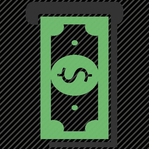 atm, cash, dollar, earnings, money, profit, savings icon