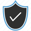 access, allow, protect, shield icon