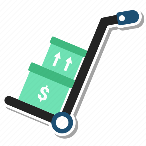 basket, buy, cart, checkout, luggage, trolly icon