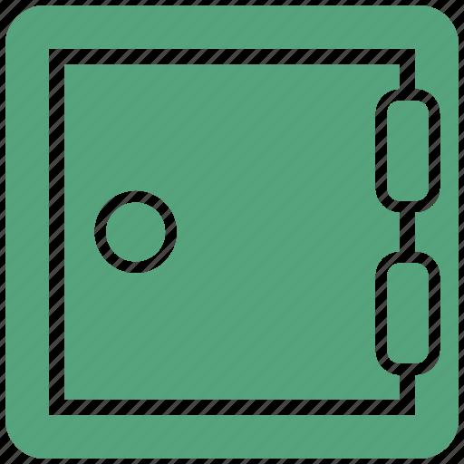 business, lock, locker, office, safe, safety icon