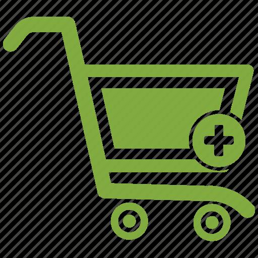 ecommerce, online shopping, pluse, shopping icon