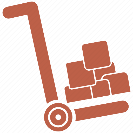Cart, delivery, hand, trolley icon - Download on Iconfinder