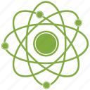 atom, molecule, nuclear, science icon