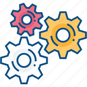 cog, cogs, gear, gear wheels, gears, preferences, settings icon icon icon