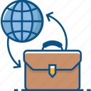business, business travel, global business, international business icon