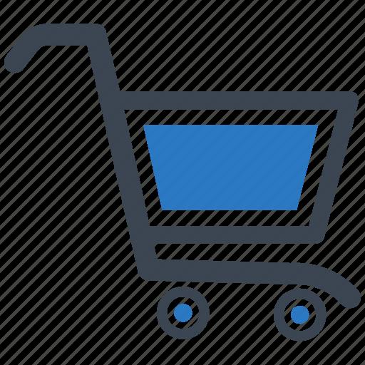 bag, cart, shop, shopping cart icon