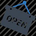 online shop, open, open shop, shop, shop open icon
