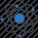 atom, electron, nucleus, proton, science