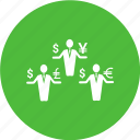 customer, dollar, human, money, person, user icon