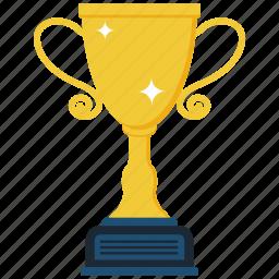 achievement, award, cup, trophy icon